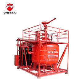 China 3000kg Dry Powder Fire Suppression Systems For Oil and Electrical Rooms supplier