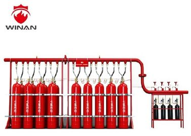 China Automated FM 200 Fire Suppression System Red Hfc 227ea Fire Extinguisher supplier