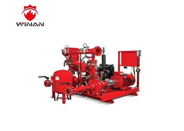 China Fire Protection Jockey Pump In Fire System , Electric Motor Driven Fire Pump Package supplier