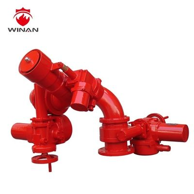 China Remote Control Fire Fighting Water Cannon Fire Safety Equipment ANSI Flange supplier